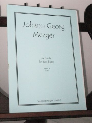Mezger J G - Six Duets Op 3 for Two Flutes